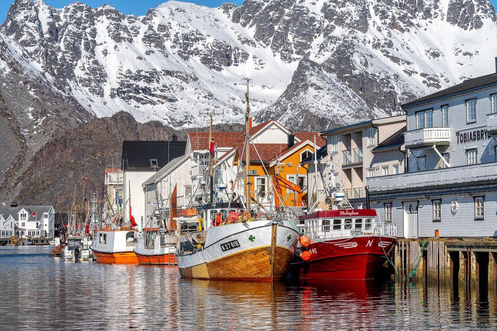 Henningsvaer Hafen 01